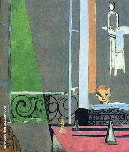 The Piano Lesson 1916 By Henri Matisse - Oil Paintings & Art Reproductions - Reproduction Gallery