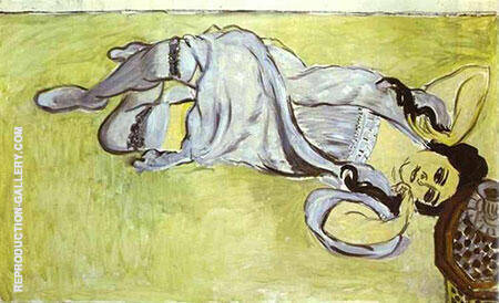 Laurette with a Cup of Coffee 1917 By Henri Matisse - Oil Paintings & Art Reproductions - Reproduction Gallery