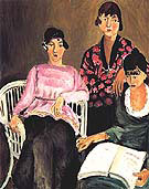 The Three Sisters 1917 By Henri Matisse