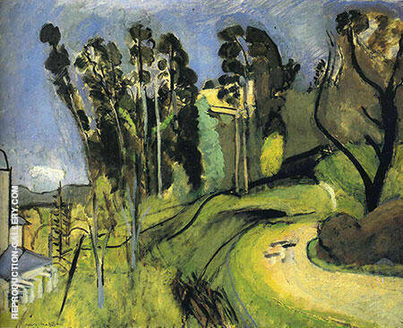 Large Landscape Mont Alban 1918 By Henri Matisse Replica Paintings on Canvas - Reproduction Gallery