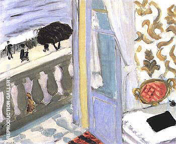 Interior with Black Notebook 1918 By Henri Matisse Replica Paintings on Canvas - Reproduction Gallery