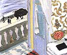 Interior with Black Notebook 1918 By Henri Matisse