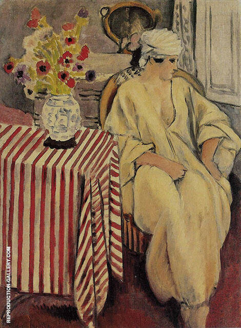 Meditation After the Bath 1920 By Henri Matisse - Oil Paintings & Art Reproductions - Reproduction Gallery