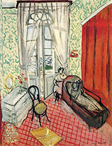 Two Women in an Interior 1920 By Henri Matisse