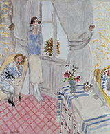 The Boudoir 1921 By Henri Matisse