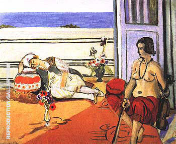 The Two Odalisques 1921 By Henri Matisse