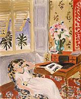 Siesta Interior at Nice 1922 By Henri Matisse