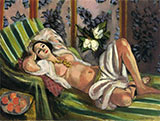 Odalisque with Magnolias 1923 By Henri Matisse