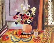 Anemones in an Earthenware Vase 1924 By Henri Matisse