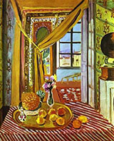 Interior with a Phonograph 1924 By Henri Matisse