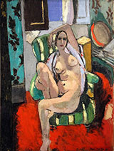 Odalisque with a Tambourine 1926 By Henri Matisse