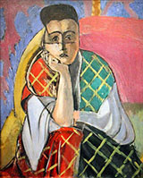 Woman with a Veil 1927 By Henri Matisse