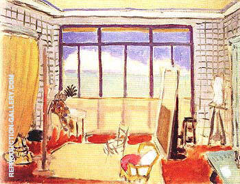 The Studio 1929 Painting By Henri Matisse - Reproduction Gallery