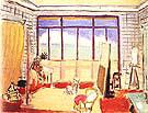The Studio 1929 By Henri Matisse