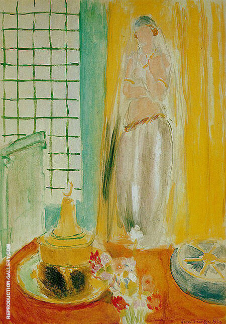 The Mauresque 1929 Painting By Henri Matisse - Reproduction Gallery