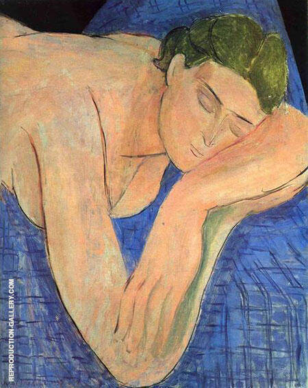 The Dream 1935 Painting By Henri Matisse - Reproduction Gallery