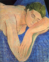The Dream 1935 By Henri Matisse