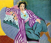 Small Odalisque in a Purple Robe 1937 By Henri Matisse