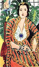 Portrait of Helene Galitzine 1937 By Henri Matisse