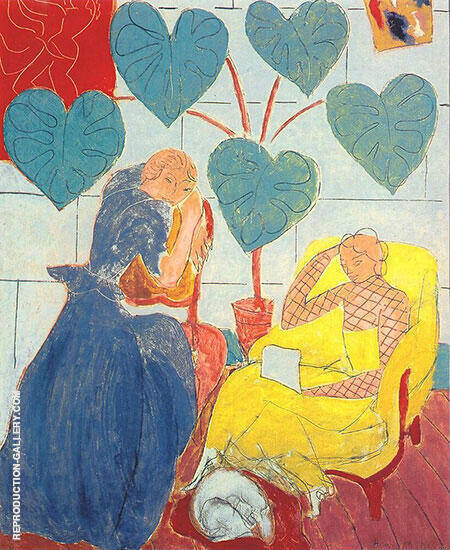The Conservatory 1938 By Henri Matisse - Oil Paintings & Art Reproductions - Reproduction Gallery
