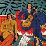 Music 1939 By Henri Matisse