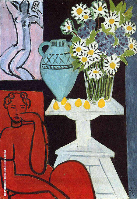 Daisies 1939 By Henri Matisse - Oil Paintings & Art Reproductions - Reproduction Gallery