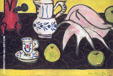 Still Life with Shell 1940 By Henri Matisse