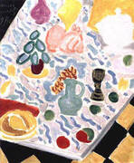 Still Life with Green Marble Table 1941 By Henri Matisse