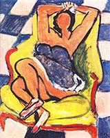 Dancer in Repose 1942 By Henri Matisse