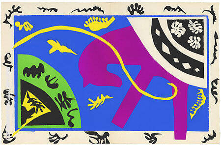 Horse Rider and Clown 1947 By Henri Matisse