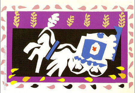 Pierrot's Funeral 1947 By Henri Matisse