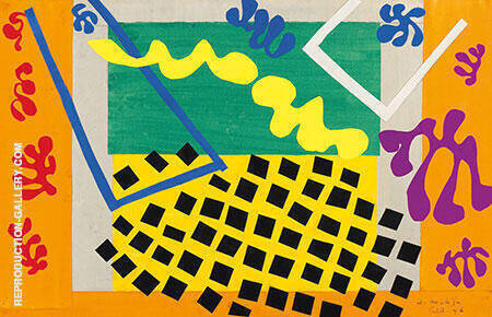The Codomas 1947 By Henri Matisse