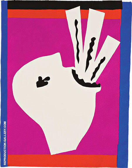 The Sword Swallower 1947 By Henri Matisse - Oil Paintings & Art Reproductions - Reproduction Gallery