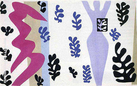 The Knife Thrower 1947 By Henri Matisse - Oil Paintings & Art Reproductions - Reproduction Gallery