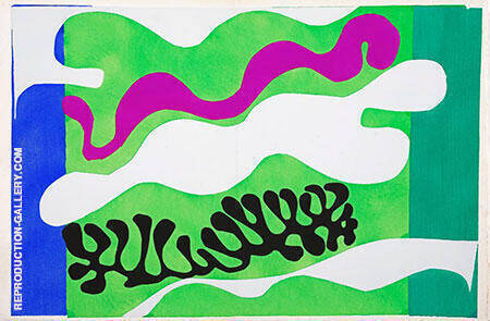 Lagoon 1947 1 By Henri Matisse