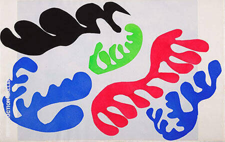 Lagoon 1947 By Henri Matisse