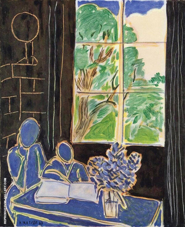 The Silence that Lives in Houses 1948 Painting By Henri Matisse