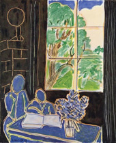 The Silence that Lives in Houses 1948 By Henri Matisse