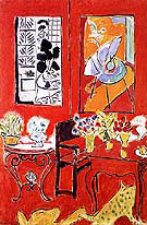 Large Red Interior 1948 By Henri Matisse