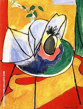 The Pineapple By Henri Matisse - Oil Paintings & Art Reproductions - Reproduction Gallery