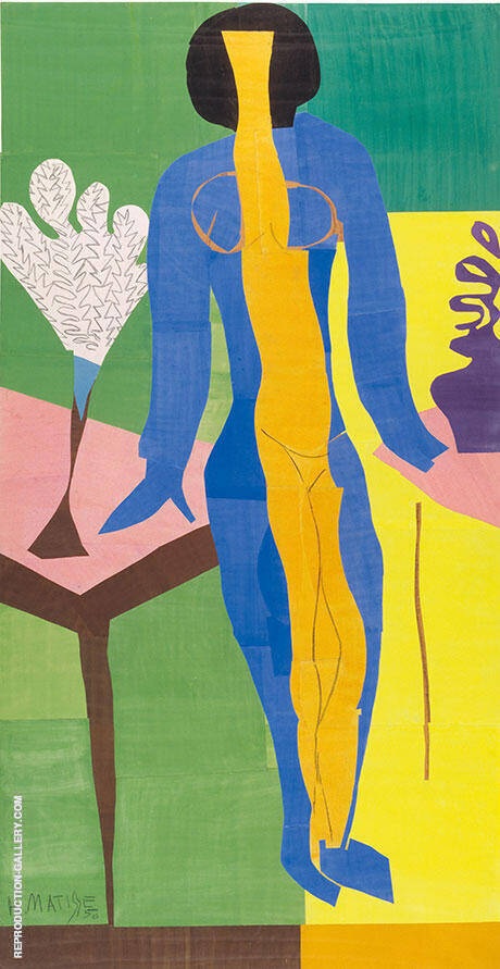 Zulma 1950 By Henri Matisse Replica Paintings on Canvas - Reproduction Gallery