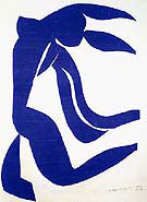 The Flowing Hair 1952 By Henri Matisse