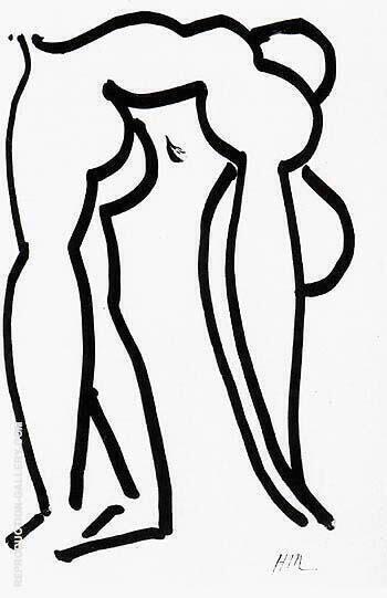 Acrobat 1952 By Henri Matisse