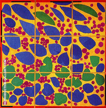 Ivy in Flower 1953 Painting By Henri Matisse - Reproduction Gallery