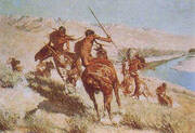 Episode 1 of the Buffalo Gun By Frederic Remington