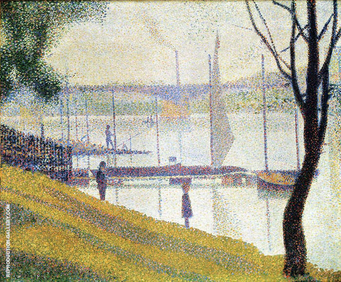 The Bridge at Courbevoie 1887 Painting By Georges Seurat