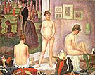 Les Poseuses 1886 By Georges Seurat