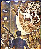 Le Chahut 1889 By Georges Seurat