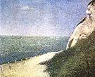 Les Bas Butin Honfleur 1886 By Georges Seurat