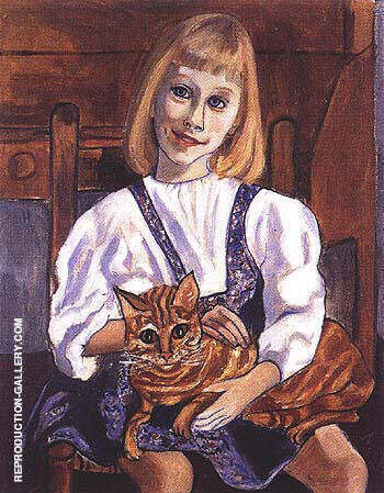 Jenny 1965 By Alice Neel Replica Paintings on Canvas - Reproduction Gallery